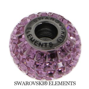 Korálek Swarovski Elements BeCharmed - ROSE