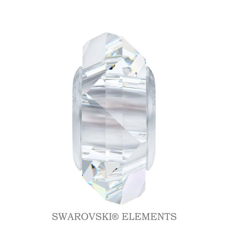 Korálek Swarovski Elements BeCharmed  Fortune - Crystal