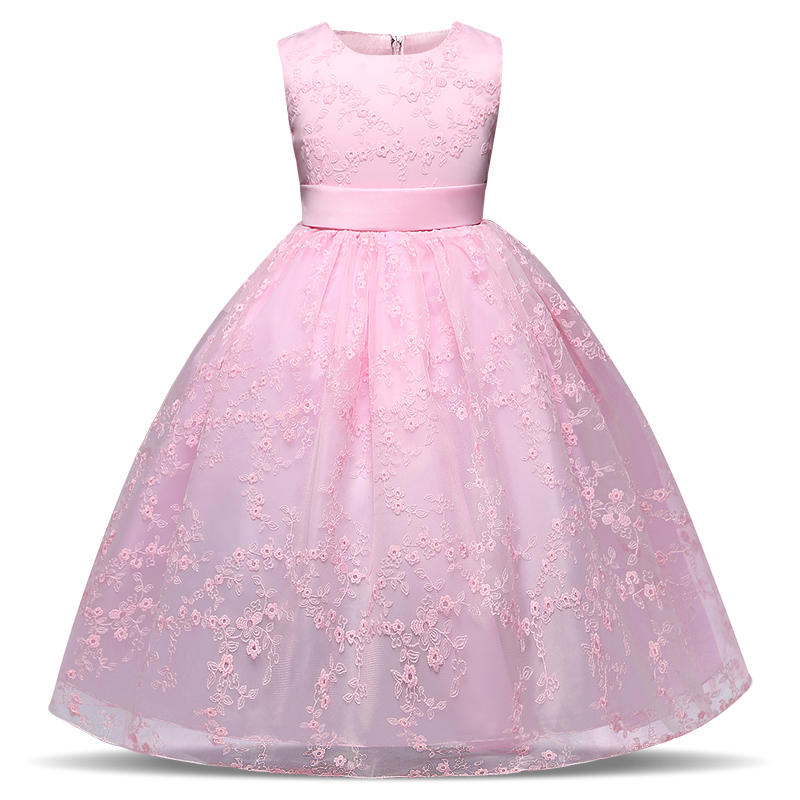 be4e49c4090e růžové dívčí šaty luxusní sváteční slavnostní svatební Tvujdesign.cz