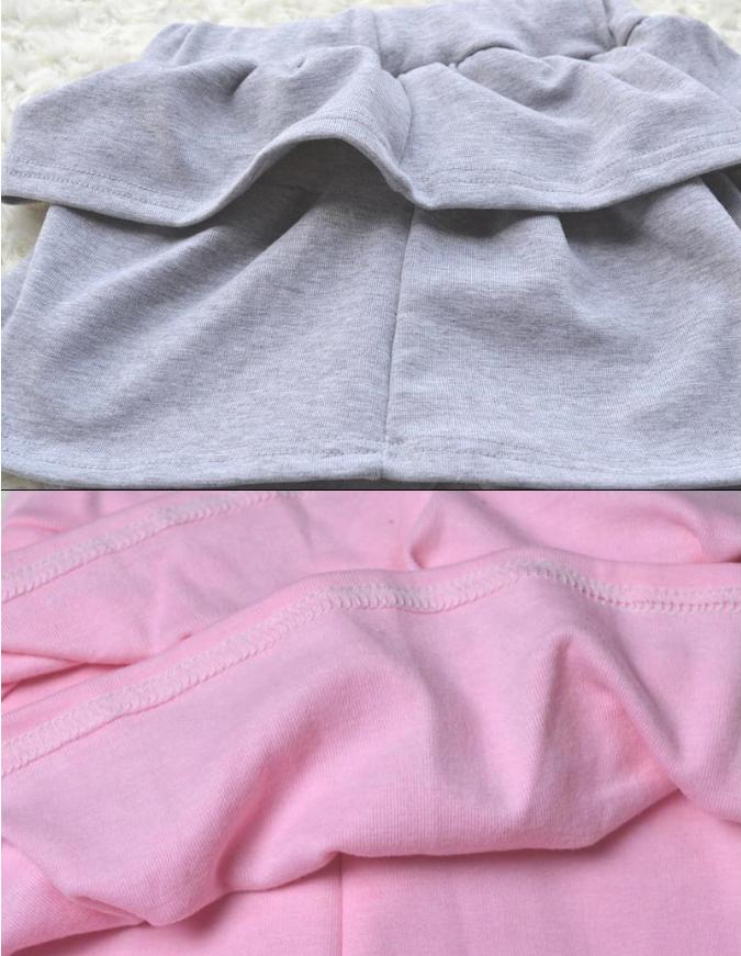 Popis výrobku. Moderní leginky se sukní pro děti od 3 do 9 let. Světle šedé  legíny ... ab0af21ba7