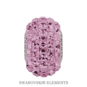 Korálek Swarovski Elements BeCharmed - LIGHT AMETHYST