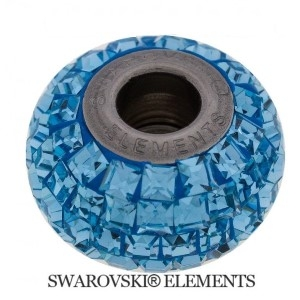 Korálek Swarovski Elements BeCharmed - AQUAMARINE