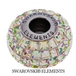 Korálek Swarovski Elements BeCharmed - LUMINOUS GREEN
