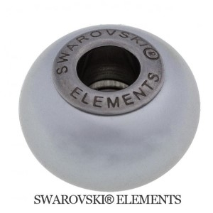 Korálek Swarovski Elements BeCharmed - Pearl CRYSTAL LIGHT GREY