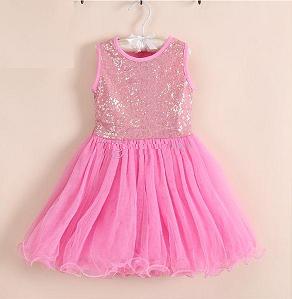 830f56f6b1c Dětské slavnostní šaty PRINCEZNA flitr růžové empty